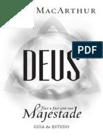 Guia de Estudo - Deus - Face a Face Com Sua Majestade - John MacArthur