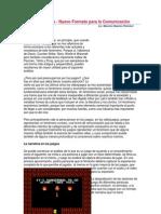 Los Videojuegos - Nuevo Formato para la Comunicación