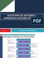 Auditoria Hardenning