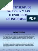 La Estrategia de Negocios y Las Tecnolog%Cdas