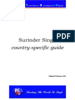 Surinder Singh country-specific guide