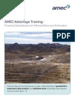 GeoStat Course AMEC