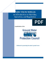Injection Wells- An Introduction to Their Use Operation and Regulation