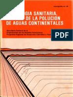 Limnologia Sanitaria, Estudio de La Polución de Aguas Continentales