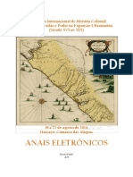 Anais Eletrônicos EIHC - 2014