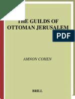 Amnon Cohen the Guilds of Ottoman Jerusalem