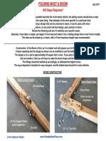 Folding Mast