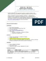 DigitalSignalProcessing_Course_McGill
