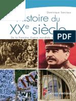 Dominique Sarciaux Histoire Du XXe Sièc