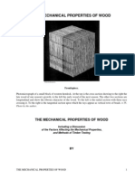 The Mechanical Properties of WoodIncluding a Discussion of the Factors Affecting the MechanicalProperties, and Methods of Timber Testing by Record, Samuel J.