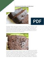 Cake de Chocolate Con Trozos de Chocolate a La Flor de Sal