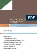 BCD 2 Binary