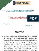 Analisador de Redes Clase 15 2014 I