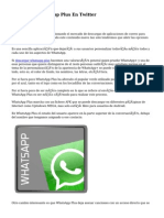 Descargar Whatsapp Plus En Twitter