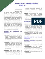Analisis 2. Fisiopatologia y Manifestaciones Clinicas