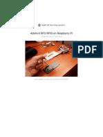 Adafruit Nfc Rfid on Raspberry Pi