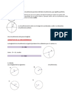 Círculo, Áreas y Perímetros.