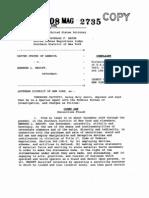 12/11/08 Madoff Criminal Complaint