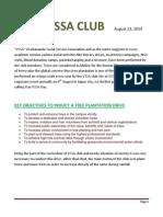 Report Tree Plantation