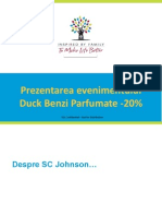 Fisa Promoteri - Eveniment Benzi Parfumate -20%