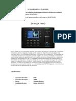 Sistema Biométrico en La Unjbg