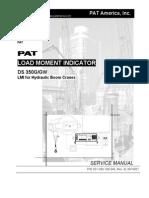 PAT DS 350G GW Service Manual