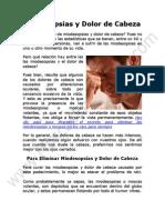 Miodesopsias y Dolor de Cabeza Qué Relación Tienen