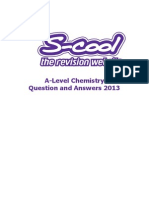 S-Cool A Level Chemistry Practice Questions and Answers