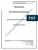 Essay Strategy by Hemant Kumar Click Here