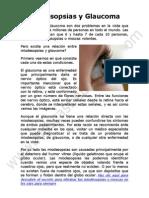 Miodesopsias y Glaucoma Tienen Alguna Relacion