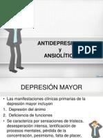 Antidepresivos y Ansiolíticos