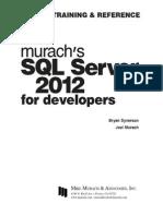 Murach SQL Server 2012 for Developers v413hav