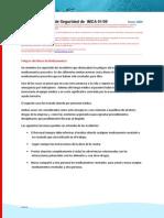 Flash Informativo de Seguridad de IMCA-1-Abuso de Medicina