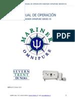 Manual de Operación Mariner Omnipure Gen-1 Keepex