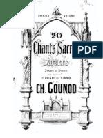 10 Canti Sacri Gounod