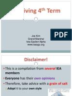 IEA Presentation TERM 4 - Spring 2014 - Joe Kim