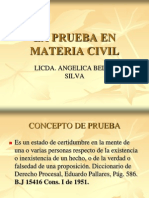 La Prueba en Materia Civil Final 2