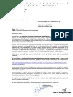 Lettre Ouverte - 12-9-2014