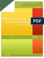 Econometric Handbook 2013