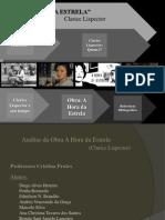 A Hora Da Estrela - Pronto Ficção Brasileira 2013.1