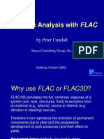Soil Dynamics using Flac