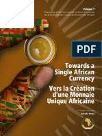 Towards a  Single African  Currency