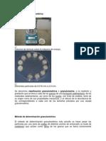 Clasificación granulométrica
