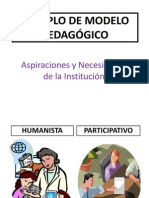 79145502 Ejemplo de Modelo Pedagogico
