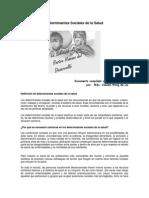 Determinantes Sociales 2012