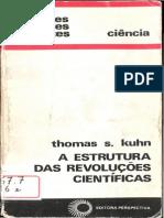 Kuhn Thomas a Estrutura Das Rev Cientificas