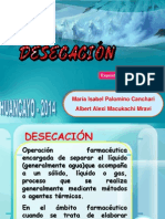desecacion