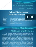 School Facilities and Equipment Maintenance