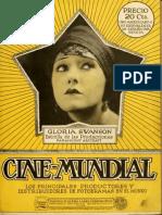 Cine Mundial - Enero 1920