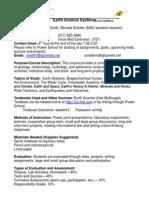 week1 handout earthsciencesyllabus-draft doc